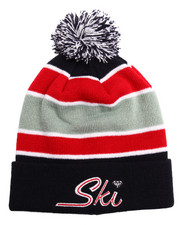 Hats - Diamond Ski Pom Beanie
