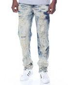 Stretch / Rigid Hybrid Denim Jeans