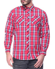Men - Reade Plaid L/S Button-Down