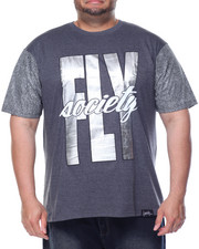 Men - Fly Print T-Shirt (B&T)