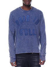 Sweatshirts & Sweaters - Paid in Full L/S T-Shirt