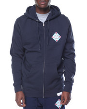 Hoodies - Diamond League Zip Up Hoodie