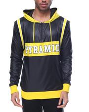 Men - Pyramid Varsity Pullover Hoodie