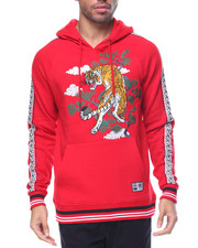 Hoodies - SOUVENIR JACKET TIGER FLEECE HOODIE PULL-OVER