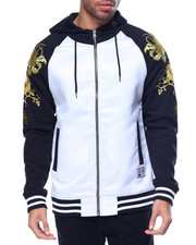 Hoodies - SOUVENIR JACKET Dragon FLEECE HOODIE FULL-ZIP