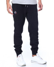 Jeans & Pants - WAVE CREW SILK KNIT JOGGERS