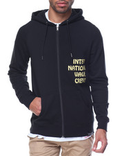 Light Jackets - WAVE CREW CLAN ZIP-UP HOODIE