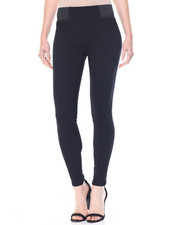 Bottoms - Waist Control Pinktuck Skinny Ponte Pant