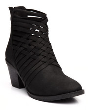 Boots - Shirly Cross Detailed Bootie