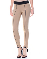 Basic Essentials - Piped Seam Ponte Legginng