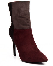 Boots - Marla Color Blocked Bootie