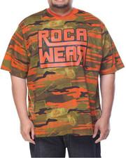 Rocawear - Artillery S/S V-Neck Tee (B&T)