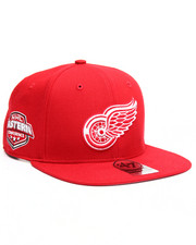 Accessories - Detroit Red Wings Sure Shot 47 Captain Snapback Cap