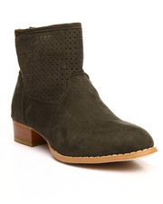 Fashion Lab - Michelle Faux Seude Bootie
