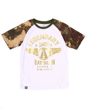 Sizes 8-20 - Big Kids - BATTALION RAGLAN TEE (8-20)
