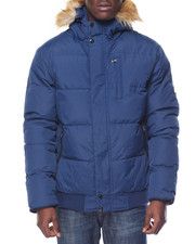 Heavy Coats - Logan Peak Bubble Snorkel Bomber Jacket