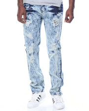 Jeans & Pants - Rip - And - Repair Acid Washed Denim Jeans