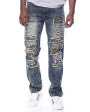 Jeans & Pants - Camo Patch Denim Jean