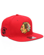Women - Chicago Blackhawks Sure Shot 47 Captain Snapback Cap