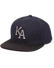 KING Apparel - Letterman Wool Flannel Snapback Hat
