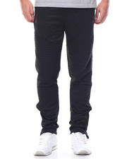 Jeans & Pants - Side - Zip Biker Fleece Joggers