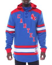 Men - Blue Cartel Pullover Hoodie