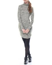 Women - Kim Long Sleeve Turtle Neck Dress