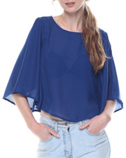 Cotton Express - Kimono Crop Top