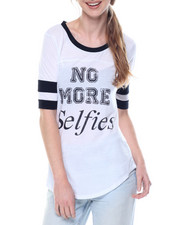 Fashion Lab - No More Selfies Tee