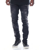 Zipper - Bottom Moto - Style Denim Jeans
