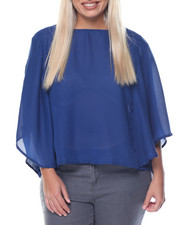Cotton Express - Kimono Crop Top (Plus)