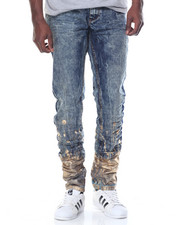 Men - Heritage America Foil Denim Jeans