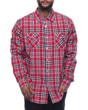 Shirts - Enyce Plaid L/S Button-Down (B&T)