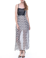 Women - Pleated Bottom Maxi Dress