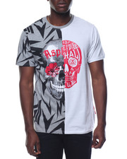 Men - Skull Two Tone T-Shirt