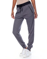 Women - Zip Trim Pockets Knit Jogger