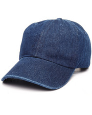 EPTM. - Plain Navy Denim Strapback Dad Cap