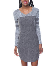 Dresses - Touch Down V-Neck Jersey Dress