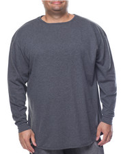 Men - Side - Zip Round Bottom L/S Thermal (B&T)
