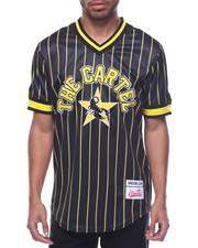 Shirts - Medellin Cartel Pinstripe Baseball Jersey