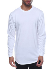 Men - Long - Tail Crewneck L/S Tee