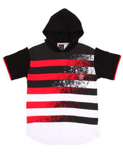 Boys - S/S HOODED TEE (8-20)