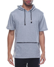 Men - Fishtail Bottom S/S Pullover Hoodie