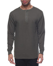 Henleys - Two - Button Thermal Henley