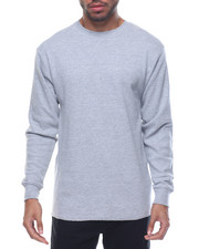 Shirts - Fitted Lightweight Crew Neck L/S Thermal