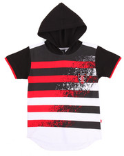 Boys - S/S HOODED TEE (4-7)