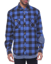 Shirts - Butcher Flannel L/S Button-down