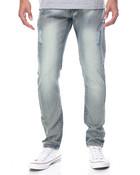 Monarchy Flap - Pocket All - Over Blasted Denim Jeans