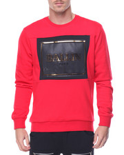 Men - Ballin Embossed Crewneck Sweatshirt