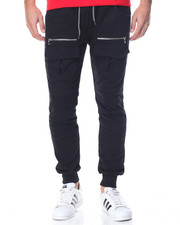 Basic Essentials - Front - Pocket French Terry Joggers